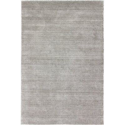 Pletcher One-of-a-Kind Indo Gabeh Hand-Woven Silver Area Rug