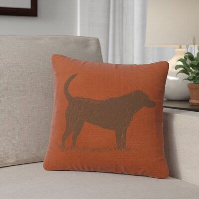 Fendley Lab Throw Pillow Color: Paprika