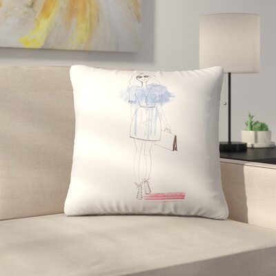 City Chic Throw Pillow Size: 16 x 16