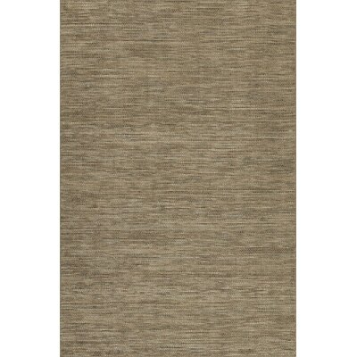 Minh Hand-Woven Chocolate Area Rug Rug Size: Rectangle 36 x 56