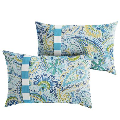 Mayda Floral Indoor/Outdoor Lumbar Pillow Size: 13 x 20