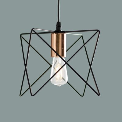 Amdt 1-Light Geometric Pendant