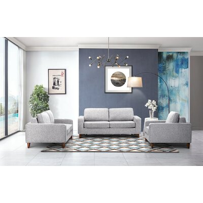 Courter 3 Pieces Living Room Set
