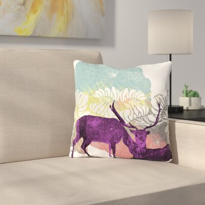 Tenderness by Frederic Levy-Hadida Throw Pillow Size: 18 H x 18 W x 3 D