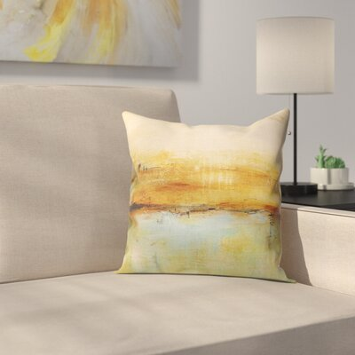 Cher Abstract Throw Pillow Size: 24  x 24
