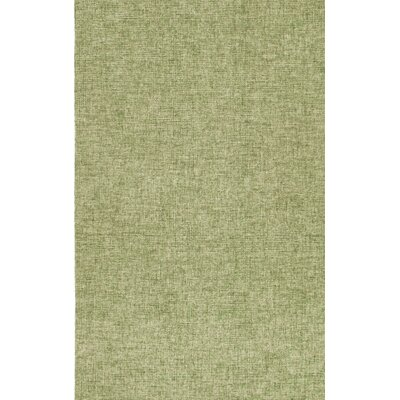 Kirts Hand-Woven Wool Green Area Rug Rug Size: Rectangle 83 x 115