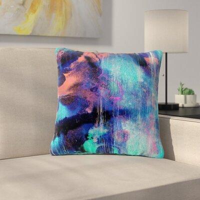 Nina May Grotto Falls Outdoor Throw Pillow Size: 16 H x 16 W x 5 D