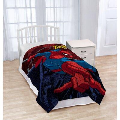Marvel Spiderman Burst Plush Throw JF27868