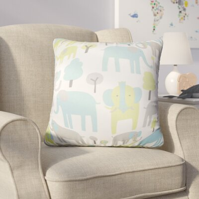 Baynham Animal Print Cotton Throw Pillow