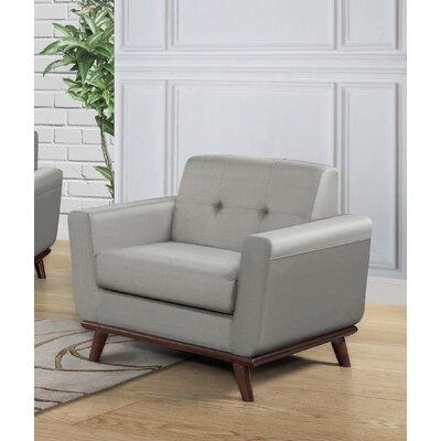 Celaya Upholstered Armchair Upholstery: Dove Gray
