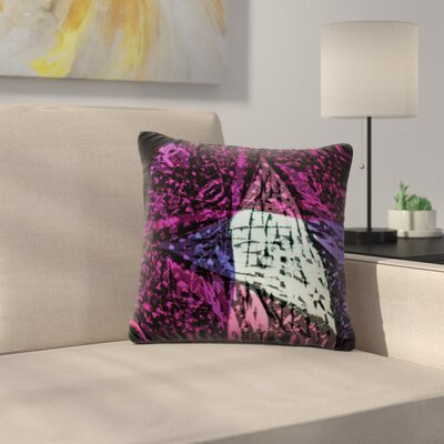 Family by Theresa Giolzetti Outdoor Throw Pillow Color: Purple