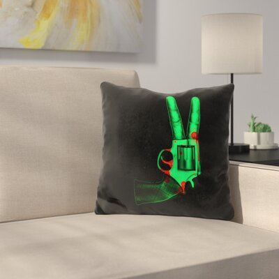 Peace Bang Throw Pillow