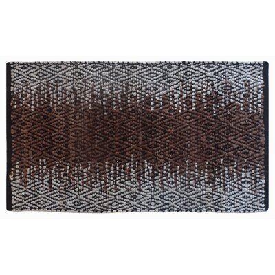 Parkhill Recycled Hand-Woven Brown Indoor/Outdoor Area Rug