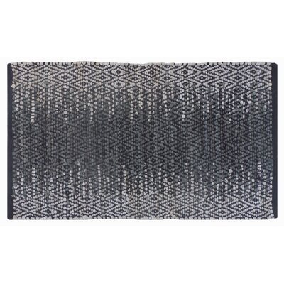 Parkey Recycled Hand-Woven Gray Indoor/Outdoor Area Rug