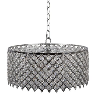 Melbourne 2-Light Crystal Chandelier