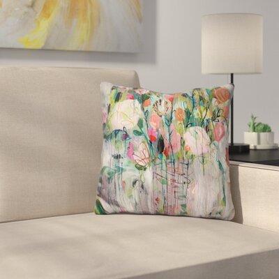 Floral and Botanical VII Throw Pillow