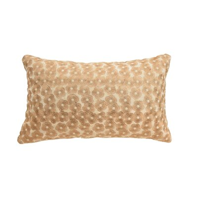 Salma Metallic Embroidery 100% Cotton Throw Pillow