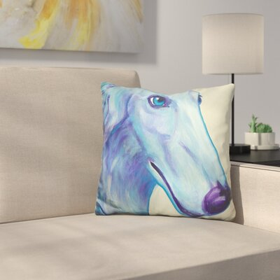 Reece Baby Borzoi Throw Pillow