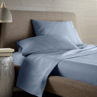 Hibbler Microfiber Sheet Set Size: King, Color: Blue