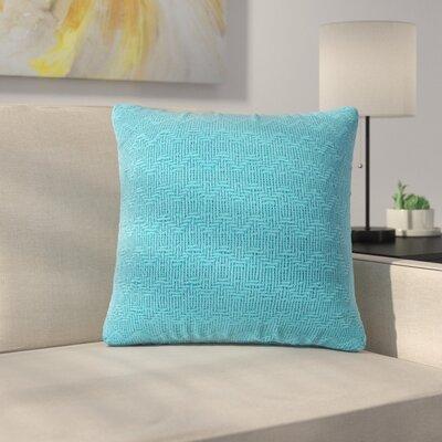 Donald Throw Pillow (Set of 2) Color: Blue