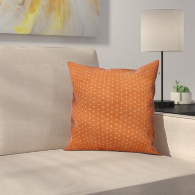 Shortwood Polka Dots Throw Pillow Pillow Use: Outdoor