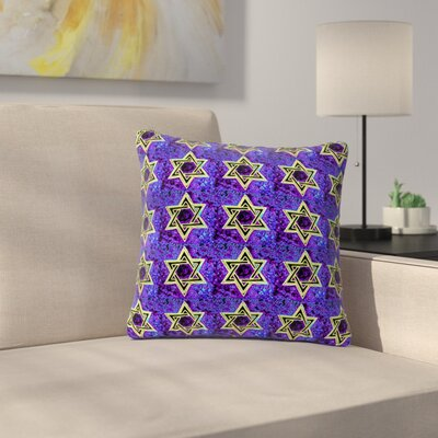 Anne LaBrie Davids Starry Sky! Pattern Outdoor Throw Pillow Size: 16 H x 16 W x 5 D
