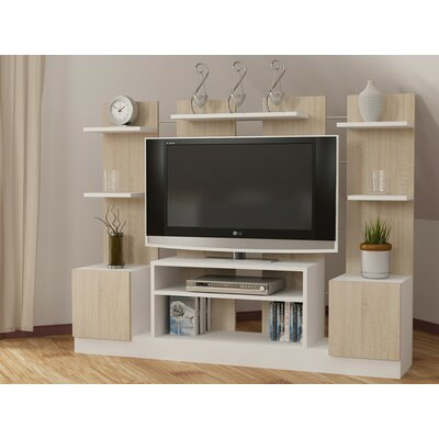 Renshaw 60 Entertainment Center Color: Cream