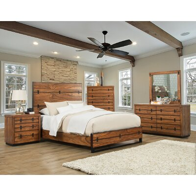 Ricker Panel Bed Size: California King