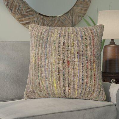Del Rey Oaks Decorative 100% Cotton Throw Pillow Color: Multi/Green