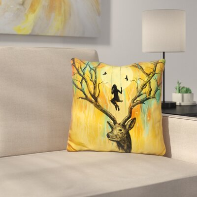Playmate Throw Pillow