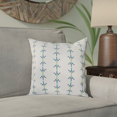 Bridgehampton Stripe Print Throw Pillow Size: 16 H x 16 W, Color: Teal