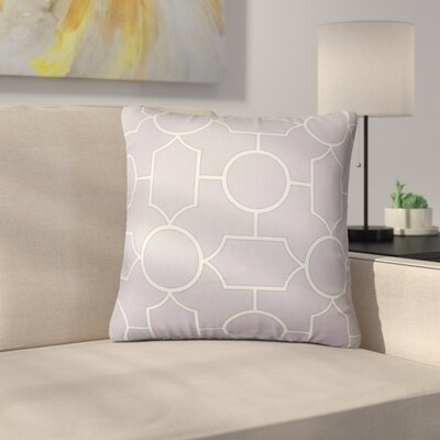 Leaston Geometric Down Filled 100% Cotton Throw Pillow Size: 24 x 24