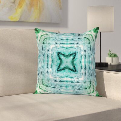 Abstract Art Figures Square Pillow Cover Size: 20 x 20
