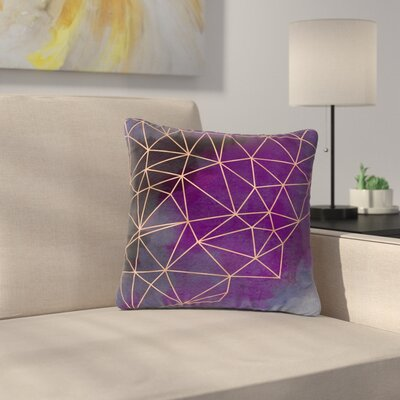 Cafelab Storm Outdoor Throw Pillow Size: 16 H x 16 W x 5 D