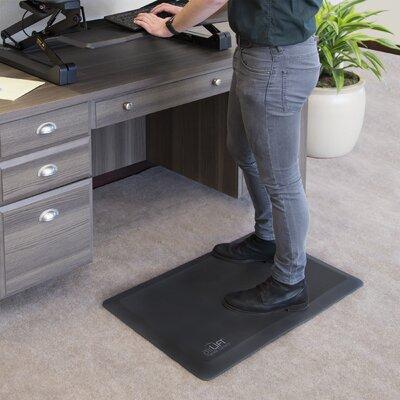 AIRLIFT� Comfort Desk Kitchen Mat Color: Black