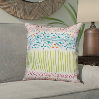 Orourke Bright Tribal Throw Pillow