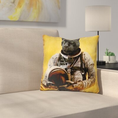 Space Jag Throw Pillow