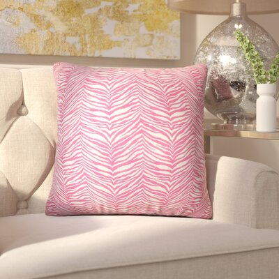 Chiltern Zebra Print Cotton Throw Pillow