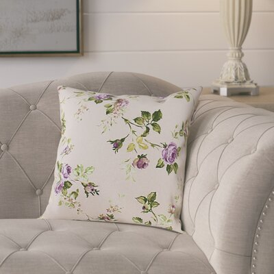 Anders Cotton Pillow Cover Color: Purple/Green