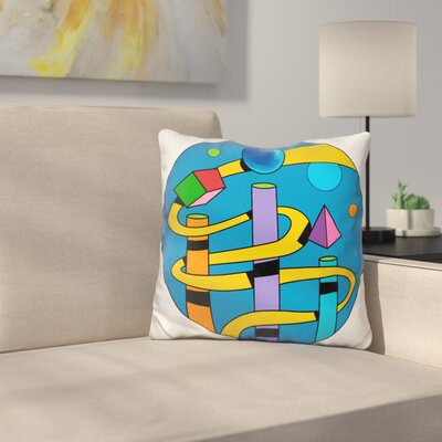 Ramp Circle Throw Pillow