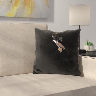 Apocalyptic Style Throw Pillow
