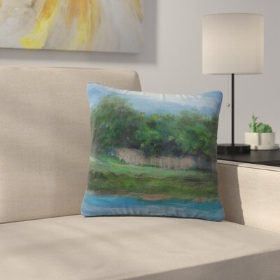 Cyndi Steen a Cooler View Outdoor Throw Pillow Size: 16 H x 16 W x 5 D