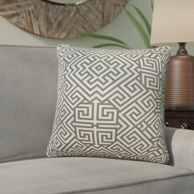 Valcour Geometric Down Filled 100% Cotton Throw Pillow Size: 20 x 20