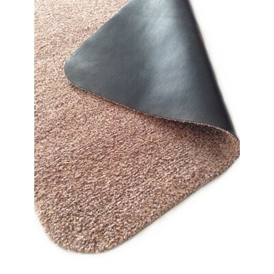 Kengue Doormat Mat Size: Rectangle 26 x 33, Color: Beige