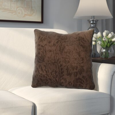 Edingworth Throw Pillow Color: Walnut