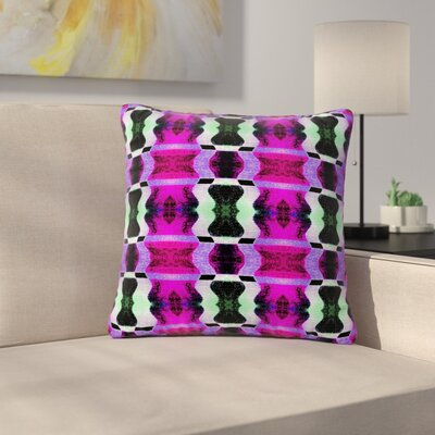 Anne LaBrie High Vibrations Outdoor Throw Pillow Size: 18 H x 18 W x 5 D