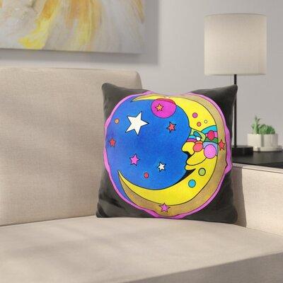 Moon Circle Throw Pillow