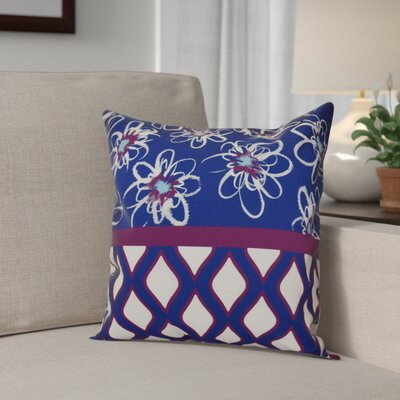 Hanukkah 2016 Decorative Holiday Geometric Throw Pillow Size: 20 H x 20 W x 2 D, Color: Purple