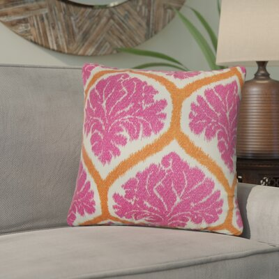 Zaya Floral Cotton Throw Pillow
