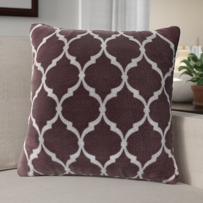 Flannagan Square Throw Pillow Color: Purple